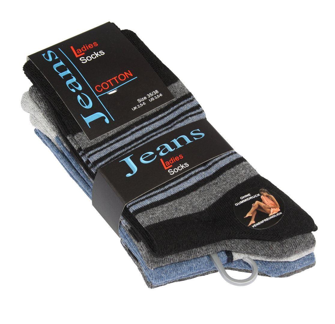 Bilde av Bomull sokker Jeans Style 5-Pack