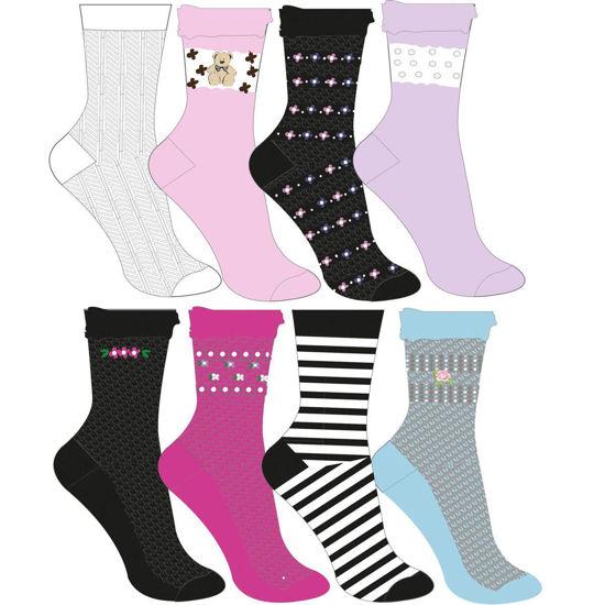 Bilde av Mønstret sokk