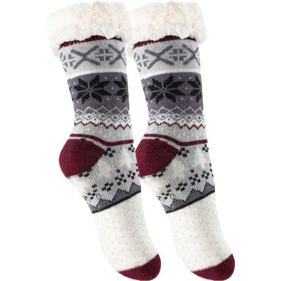 Bilde av Varme sokker med antiskli