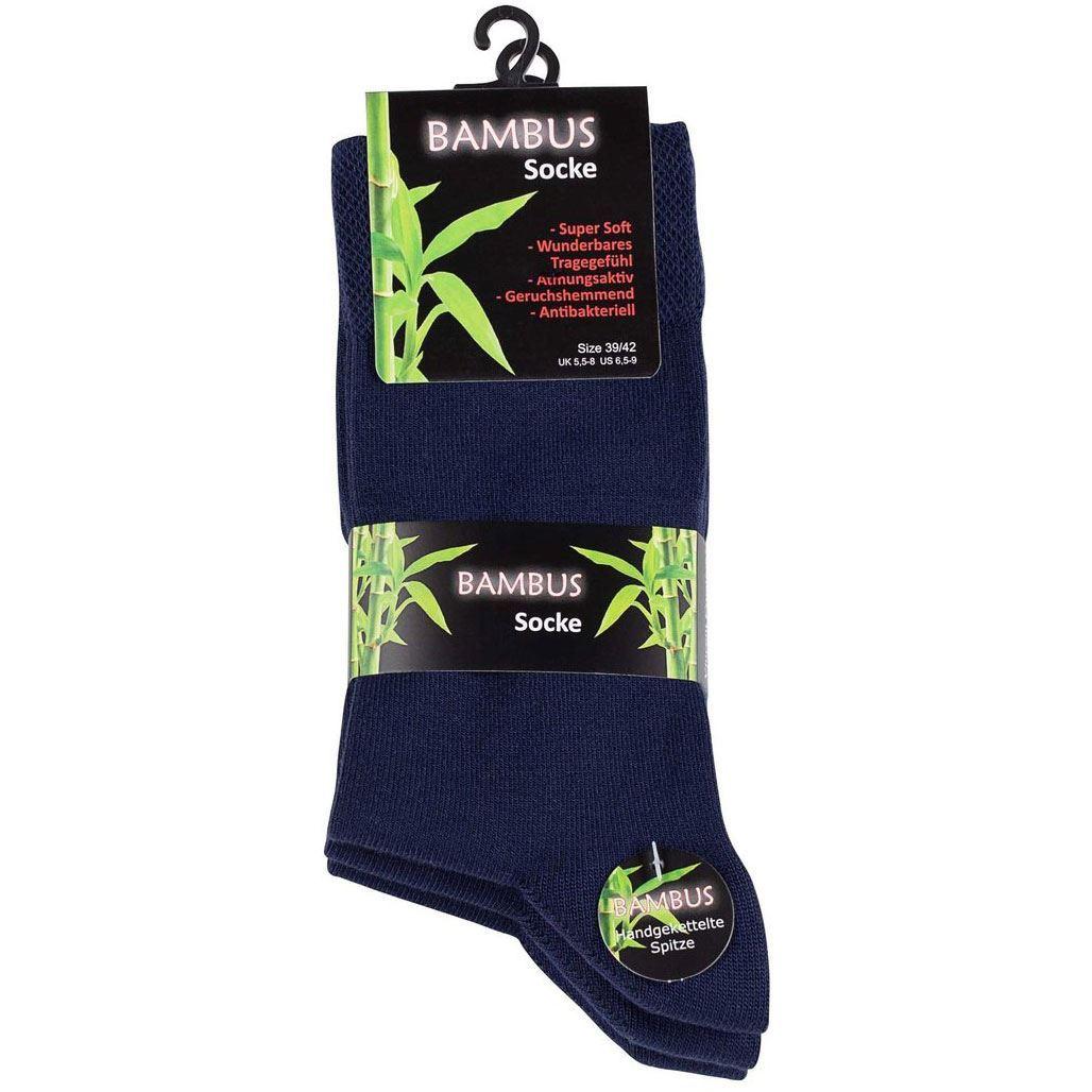 Bilde av Bambus Sokker 3-Pack