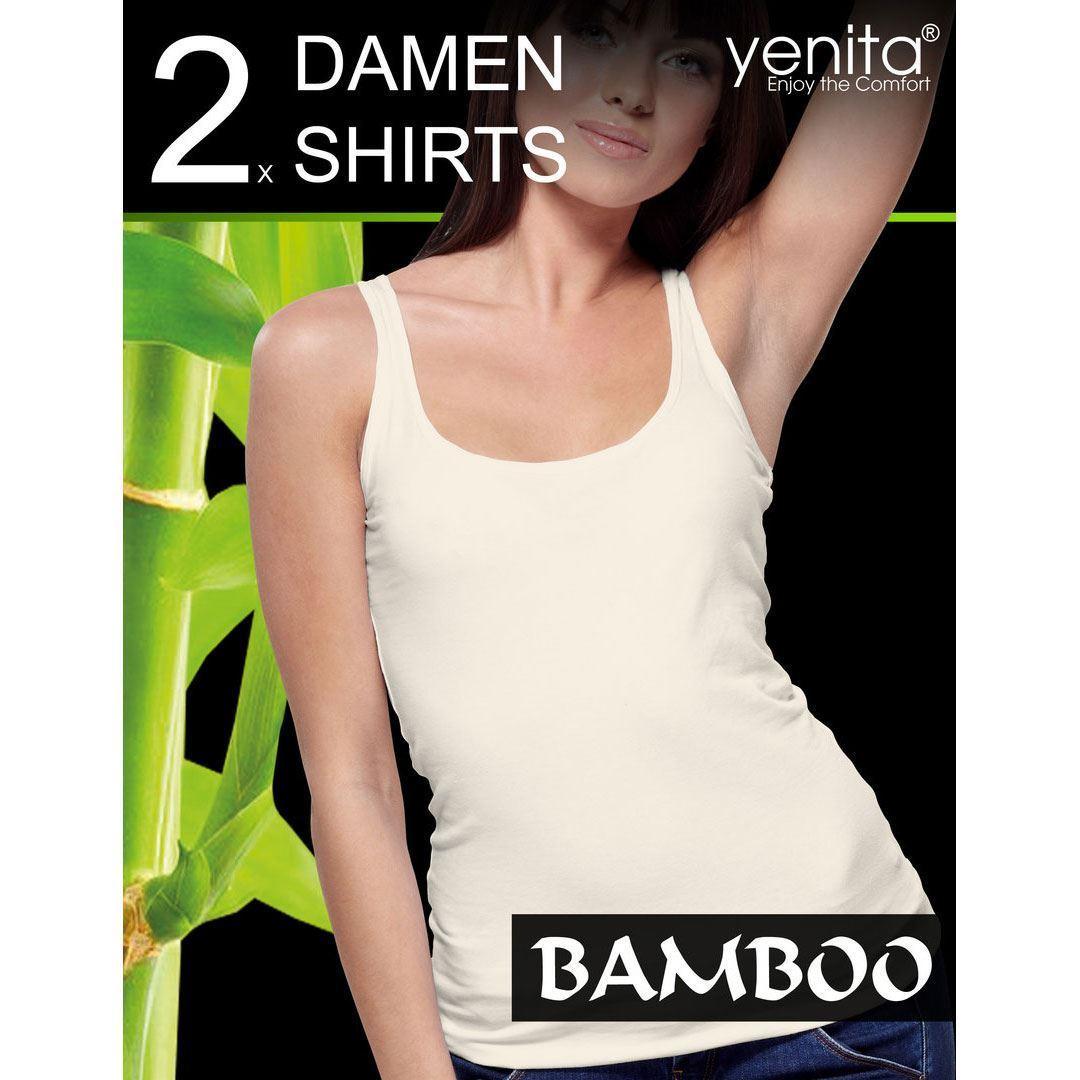 Bilde av Singlet dame bambus 2-Pack