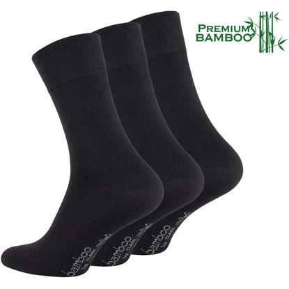Bilde av 3-Pack Bambus sokker business premium